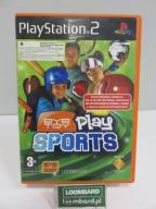 GRA NA PS2 PLAY SPORTS EYE TOY
