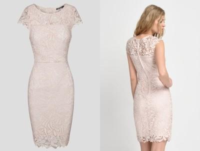 Orsay 2017 Sukienka Koronkowa Olowkowa Wesele 6831113215 Oficjalne Archiwum Allegro