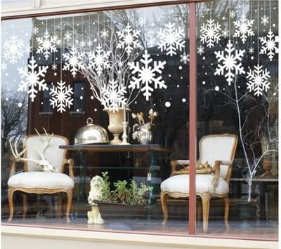 Naklejki świąteczne Na Szybę Okno Ozdoby 100cm 6598749768