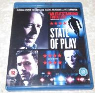 Blu-Ray: Stan gry (2009) State of Play
