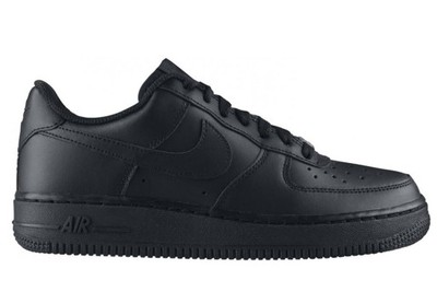 nike air force 1 gs czarne