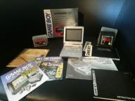 Game Boy Advance SP KOMPLET + 2 x Zelda