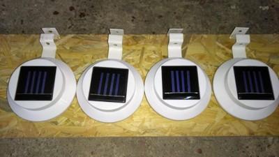 lampy solarne do płotu
