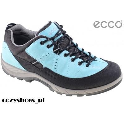 Buty trekkingowe damskie ECCO Yura błękitne