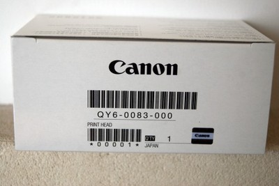 Głowica do drukarki CANON QY6-0083 NÓWKA
