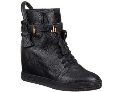 Sneakersy roberto skorzane ocieplane rozm.36 czarne
