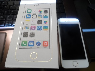 APPLE IPHONE 5s Gold 64gb - USZKODOZNY