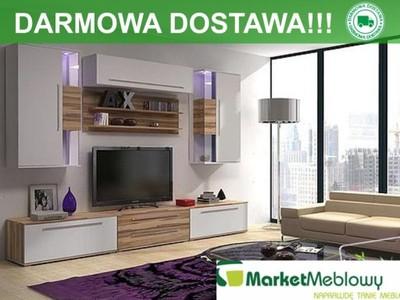 Meble Do Salonu Mebloscianka Biel Drewno Bellis A 5997930192