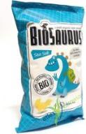 Chrupki Kukurydziane z solą 50g Biosaurus BIO EKO