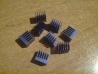 Zestaw radiatorków 10x7x10mm