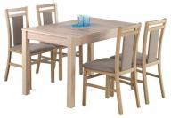 Stół rozkładany MAURYCY 118-158 sonoma NAJSZYBCIEJ