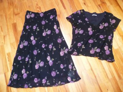 Spódnica i bluzka Marks & Spencer 40-42