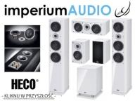 HECO STYLE 900 200 Center 2 SUB25A 5.1 BIAŁY