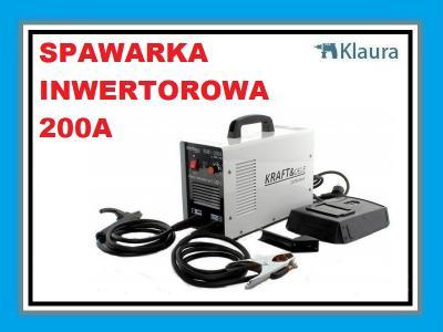 SPAWARKA INWERTOROWA 200A IGBT + MASKA KRAFTDELE