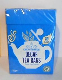 Herbata Angielska DECAF TEA BAGS 80 torebek