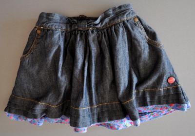 Spódnica spódniczka jeansowa BAKER r. 12-18 m-c 80