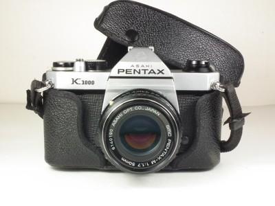 PENTAX K1000+SMC PENTAX-M 1,7/50MMM