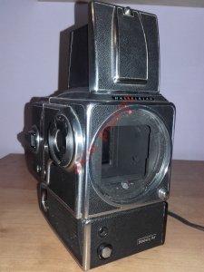 Hasselblad 500 EL/M z kasetą(12) Sprawny - od 1zł