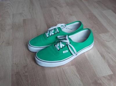 Zielone Buty Męskie Sportowe Vans rozmiar 43