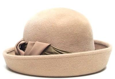 3c87b3b17 Damski kapelusz ecru 55 POLKAP - 6574804090 - oficjalne archiwum allegro