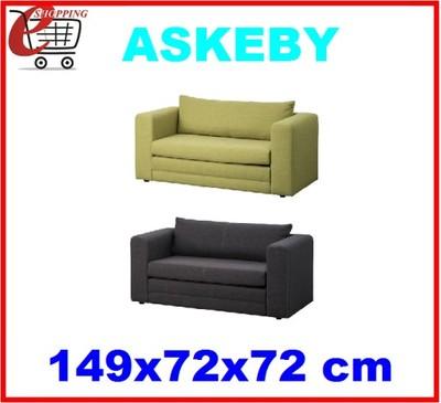 Ikea Rozkładana Sofa 2 Osobowa Askeby Kanapa łóżko 6206895651