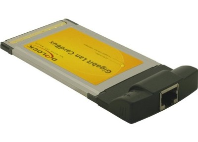 Karta PCMCIA, CardBus na Gigabit LAN Delock E1A550