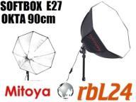 Softbox Mitoya oktagonalny E27 90cm Kraków
