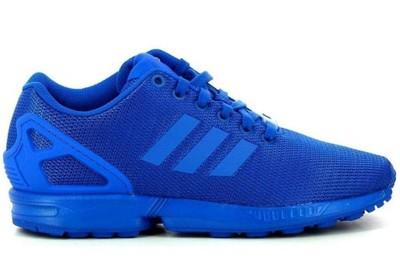 buty adidas zx flux niebieskie