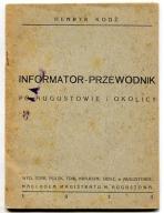 AUGUSTÓW :: przewodnik - informator z 1933 roku