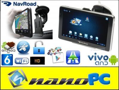 Nawigacja NavRoad VIVO AND 6' 1GHz AutoMapa Europa