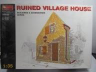RUINED VILLAGE HOUSE MiniArt 1:35