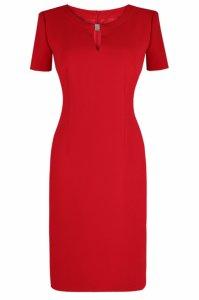 22922b98ca Sukienka Dagon 2159 czerwona Roz 46 MODON - 6115714213 - oficjalne ...